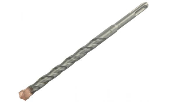 "Бур ЗУБР ""ЭКСПЕРТ"" по бетону, хвостовик ""SDS-Plus"", самоцентрирующий наконечник, спиральS4 10 мм, 210 мм"