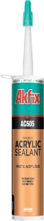 акриловый герметик белый 310 мл. Akfix Aс605