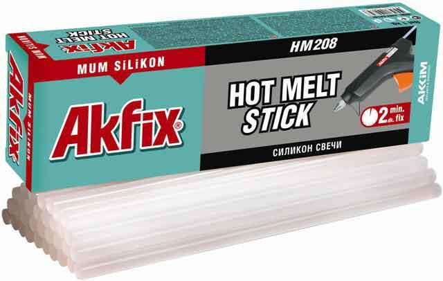 Клеевые стержни. Термоклей. Akfix HM 208