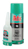 Клей с активатором для экспресс склеивания  Akfix 705-100 мг+25 гр