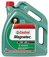 Синтетическое моторное масло Castrol Magnatec 5W-40 C3 1литр, фото 1