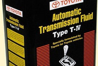 Трансмиссионное масло для АКПП - ATF TYPE T4 Масло трансмиссионное TOYOTA 4л. (арт. 0888681015), фото 1