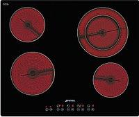 Стеклокерамическая варочная панель Smeg SE2641TD2