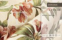 Портьерная ткань для штор, жаккард с цветами