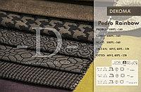 Мебельная ткань для штор, жаккард с геометрическим рисунком