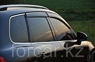 Дефлекторы боковых окон для BMW X3 2011-2014