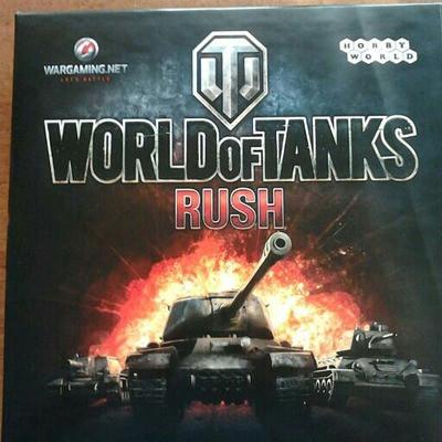 World of Tanks настольная игра