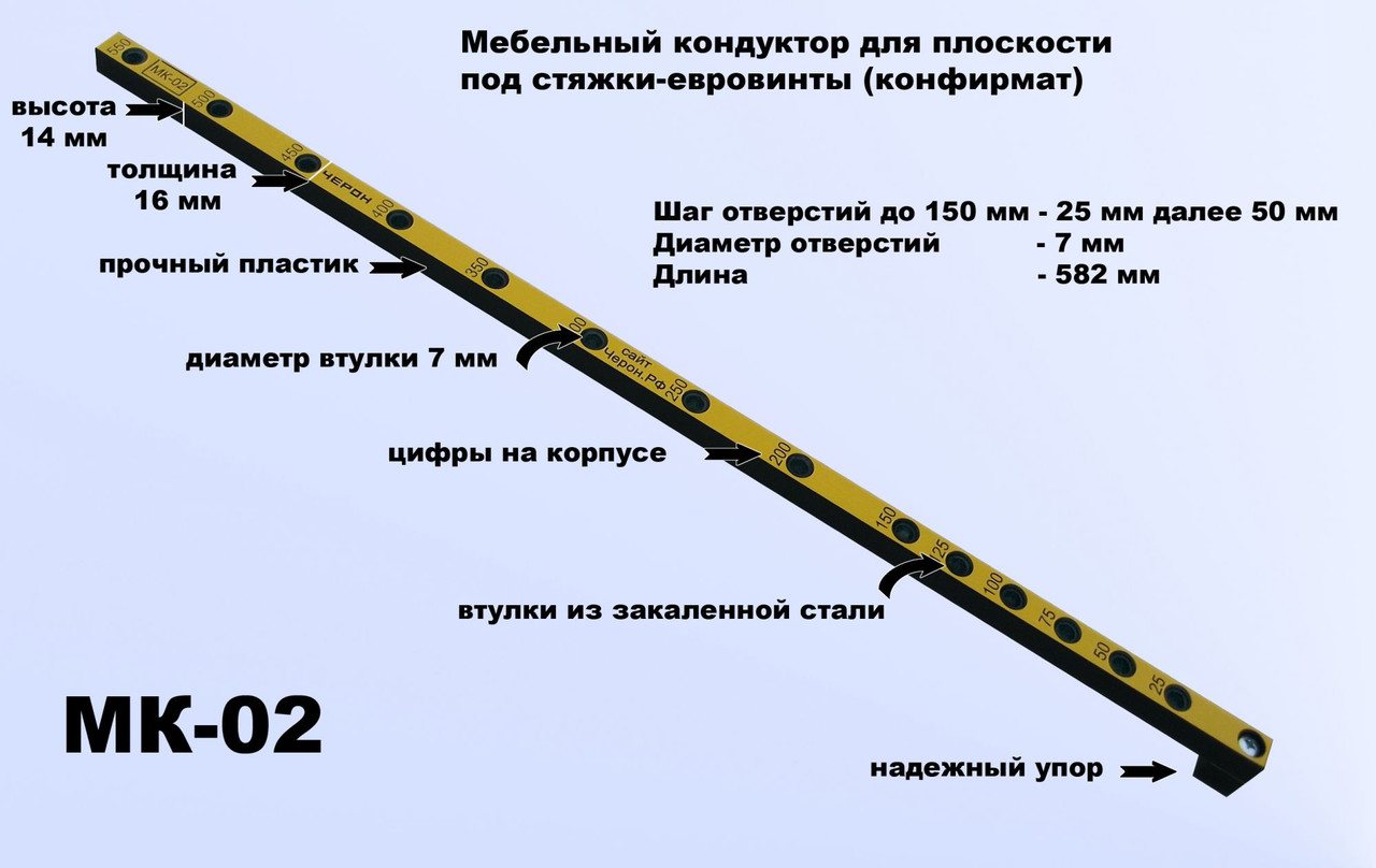 Мебельный шаблон МК-02 Черон