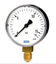 Манометр 111.10.100 0/6 bar G1/2B NG 100 мм, WIKA Германия