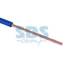 Провод ПГВА 1 х 0.50мм², 100м, синий  REXANT