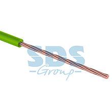 Провод ПГВА 1 х 0.75мм², 100м, зеленый  REXANT