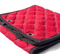 Чехлы-накидки для автомобильного сидения Алькантара (Красный)