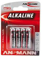 Батарейки ААА ANSMANN Alkaline-Red-1.5V 4шт. в упаковке