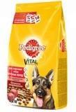 Pedigree Сухой корм для взрослых собак крупных пород с говядиной и овощами 2,2 кг