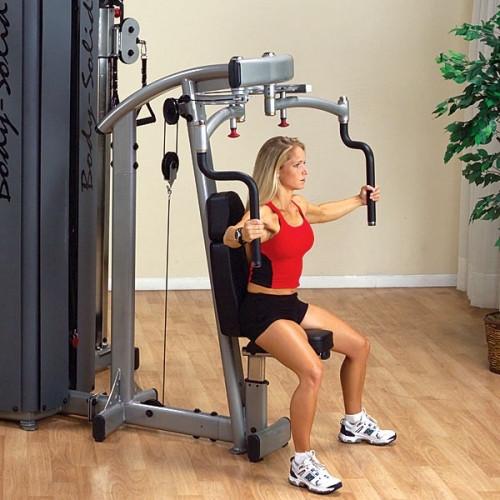 ОПЦИЯ к DGYM Двухпозиционный тренажер для грудных и дельтовидных мышц (DPEC-S)