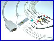 Кабель отведений электрокардиограммы (IEC, DIN 3.0) Fukuda Denshi, фото 1