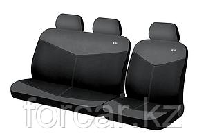 RONDO VAN (для  сидений микроавтобусов) Темно Серый-Черный