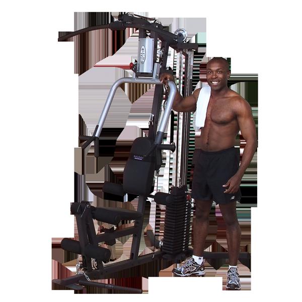 Многофункциональный тренажер с весовым стеком 72,5 кг (G3S)