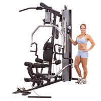 Многофункциональный тренажер с весовым стеком 95 кг (G5S)