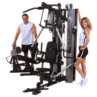 Многофункциональный тренажер с двумя весовыми стеками по 95 кг (G10B), фото 1