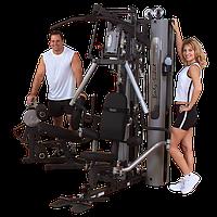 Многофункциональный тренажер с двумя весовыми стеками по 95 кг (G10B)