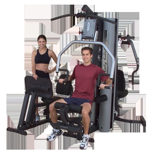 Многофункциональный тренажер с двумя весовыми стеками по 95 кг (G9S)