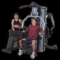 Многофункциональный тренажер с двумя весовыми стеками по 95 кг (G9S), фото 1