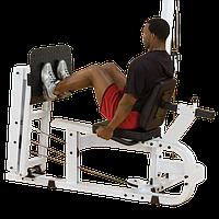 Жим ногами горизонтальный с весовым стеком 95 кг ОПЦИЯ для EXM4000S (LP40S)