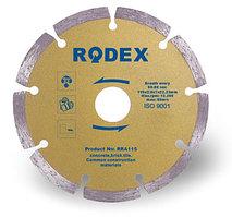Алмазные диск Сухорез Rodex 115x1,8x22,2 mm