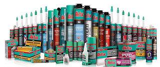 Akfix- строительная химия (герметики, клея, пены монтажные)