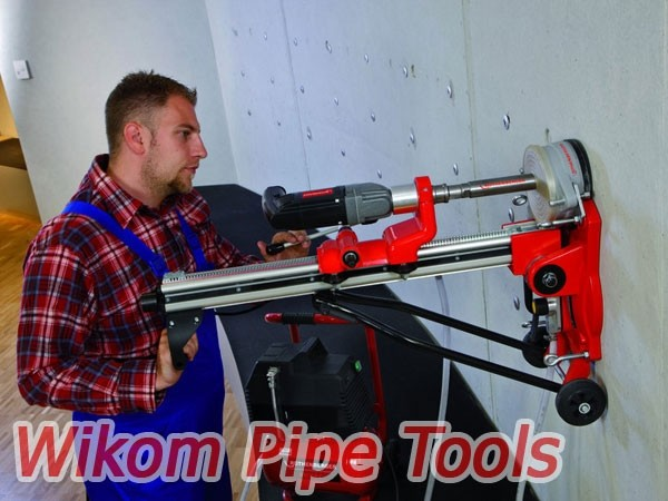 Услуги алмазного сверления компании Wikom Pipe Tools