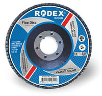 Зачистной лепестковый круг Rodex 180mm,80 зерно