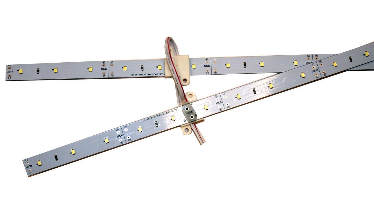 Линейка для световых коробов 12V 2X2835