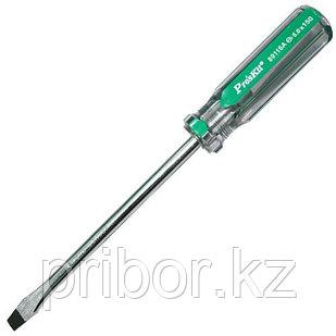 Отвертка шлицевая -5.0x150мм Pro'sKit 89116A