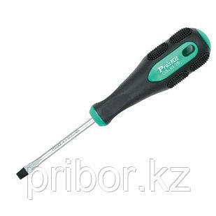 Отвертка шлицевая -5.0х75мм Pro'sKit 9SD-202A