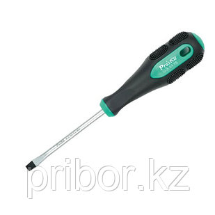 Отвертка шлицевая -3.0х75мм Pro'sKit 9SD-201A