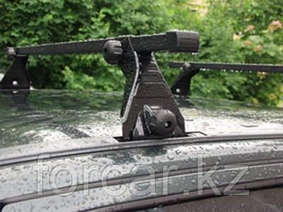 Багажник Atlant эконом-класса на DAEWOO Nexia,  MITSUBISHI  Carisma 97-, Colt 96-, Galant 4-5dr 90-96  (алюмин, фото 2