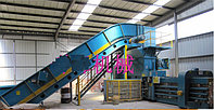Автоматический горизонтальный пресс для переработки отходов FDY-200