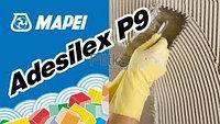 Adesilex P9- цементный клей , без оползания на вертикальных поверхностях