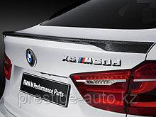 """Спойлер BMW X6 F16 2015  """"черный карбон"""""""