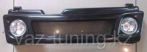 Решетка радиатора с ПТФ Лада Самара