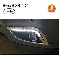 Штатные ходовые огни Hyundai IX35