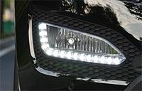 Дневные ходовые огни  Hyundai IX45 и Santa Fe DM