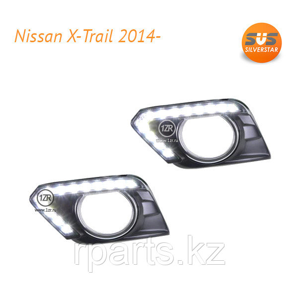 Дневные ходовые огни  Nissan X-Trail (2014-)