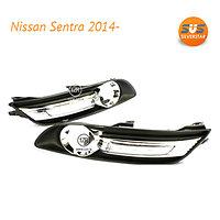 Дневные ходовые огни Nissan Sentra 2014-
