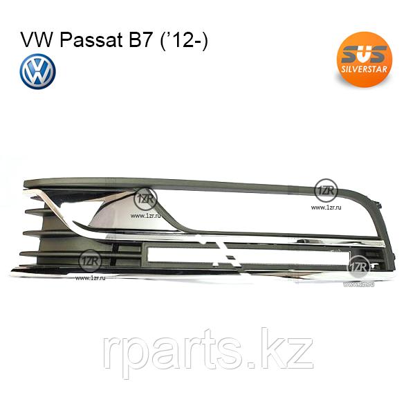 Дневные ходовые огни Volkswagen Passat B7.