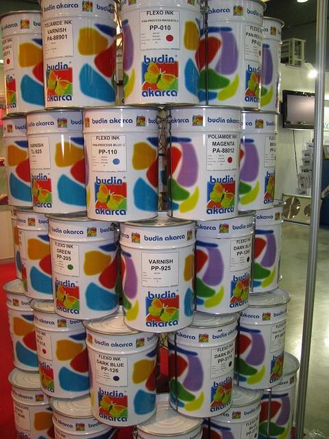 Флексографические краски спирторастворимые