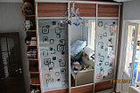 Шкаф-купе с матовыми стеклами, фото 3