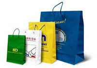 Рекламные пакеты бумажные