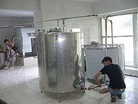 Монтаж пищевого оборудования